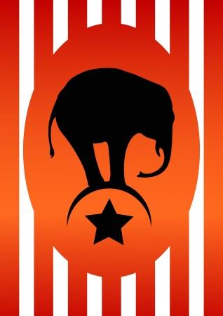 circus poster: Circus poster Illustration