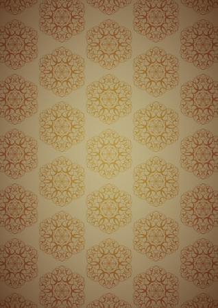 Brown sweet background Vector