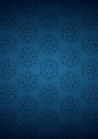 ottoman fabric: Blue sweet background