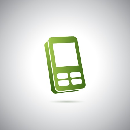 Sweet cell phone icon Vector