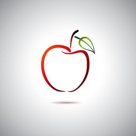 蘋果: 蘋果標誌 向量圖像