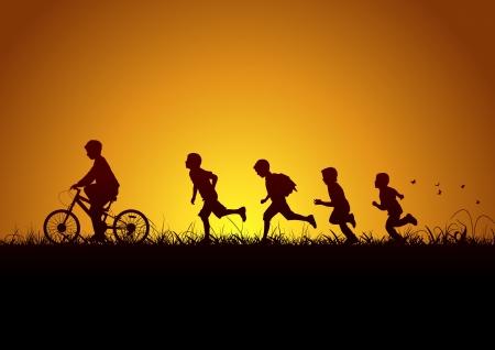 vie �tudiante: Nature et les enfants