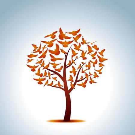 pinkie: Dove tree
