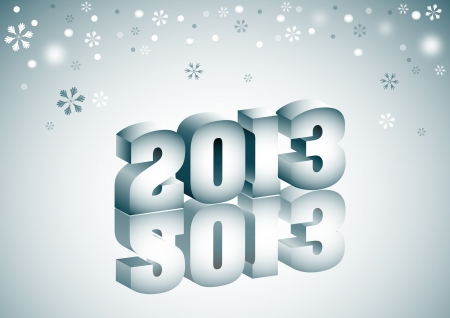 2013 Stock Vector - 16903594