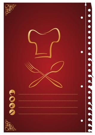 logos restaurantes: Cocine papel