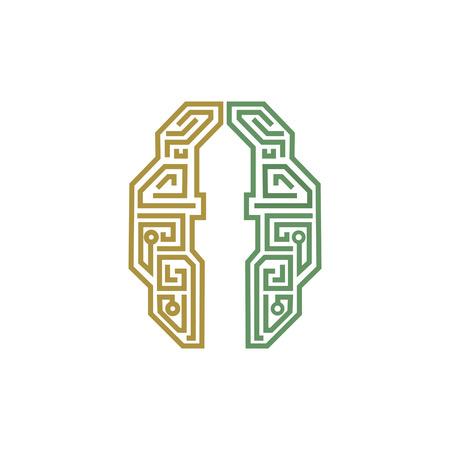 figuras abstractas: Islam y la mente