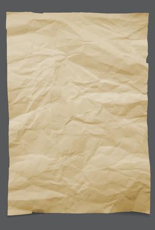 papier a lettre: Vieux papier. Vector illustration