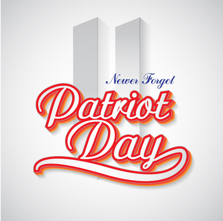Patriot Day background.  United States of America