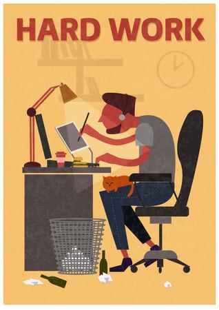 freelancer: Freelancer for the hard work of sitting in a room.