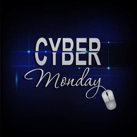 lighting background: Cyber Monday mouse lighting background.