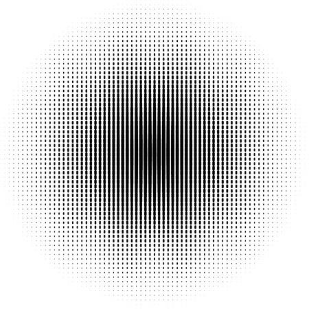 form a circle: Circle Art. halftone dots in circle form