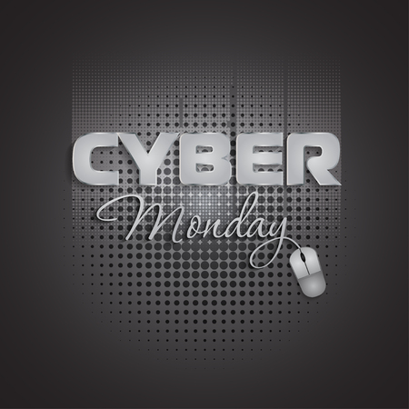lighting background: Cyber Monday mouse lighting background