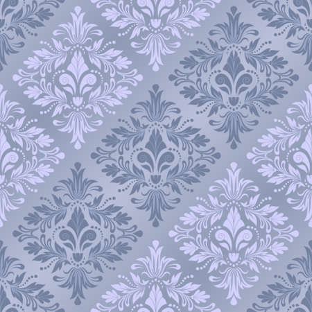 Damask seamless pattern for design. Vector Illustration Vector