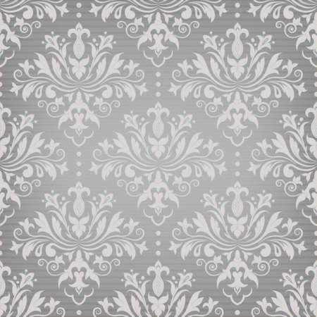Damask seamless pattern for design. Vector Illustration Stock Vector - 23541460