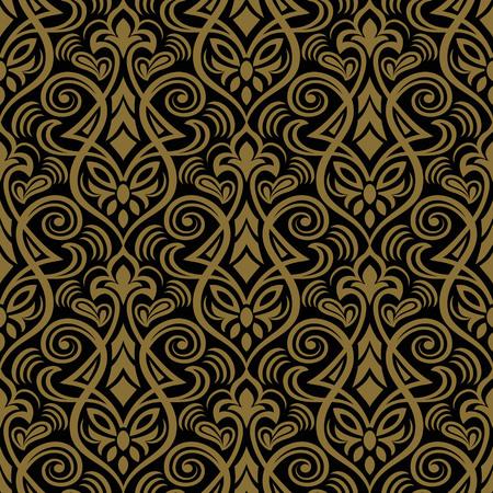 Seamless floral patrón para el diseño, ilustración vectorial