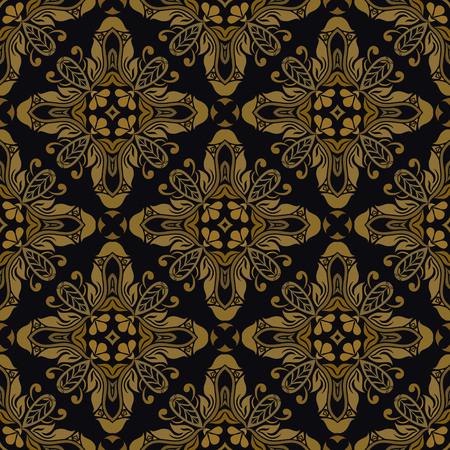 Motif floral sans couture pour le design, illustration vectorielle