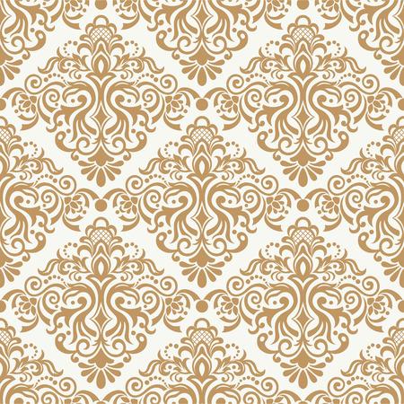 Seamless floral pattern for design, vector Illustration Banco de Imagens - 82177838