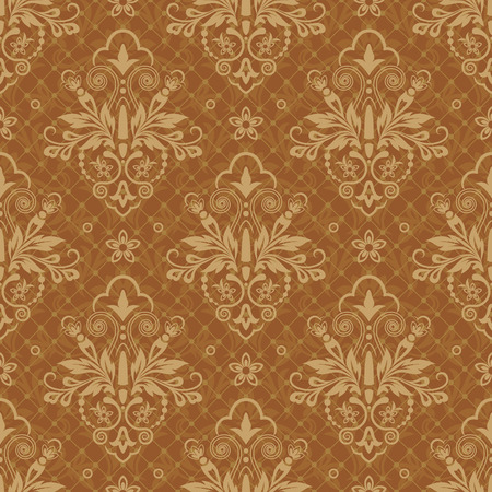 Damask seamless pattern for design. Vector Illustration Фото со стока - 82309343