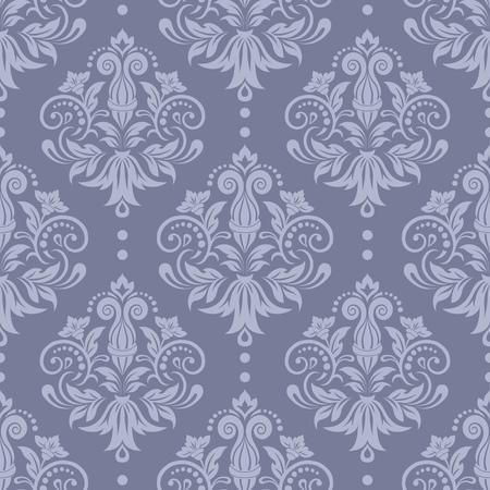 Damask seamless pattern for design. Vector Illustration Векторная Иллюстрация