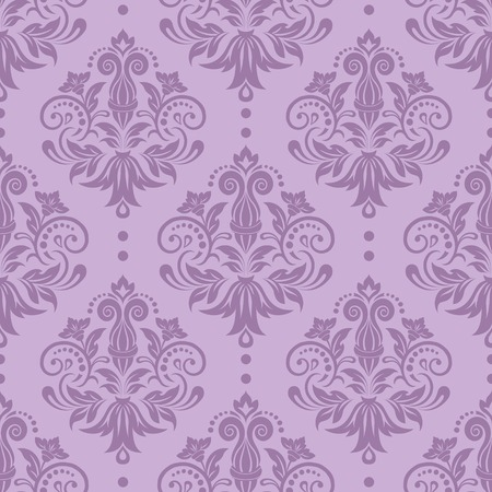 baroque: Seamless floral pattern for design, vector Illustration