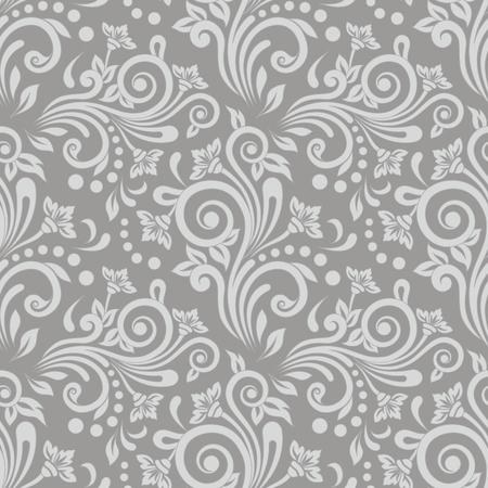 Seamless floral pattern for design, vector Illustration Векторная Иллюстрация