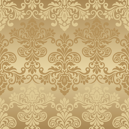 Damask seamless pattern for design. Vector Illustration Фото со стока - 82620466