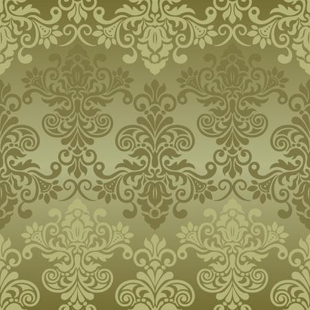 Damask seamless pattern for design. Vector Illustration Фото со стока - 82658907