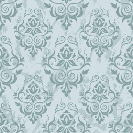 Damask seamless pattern for design. Vector Illustration Фото со стока - 87862703