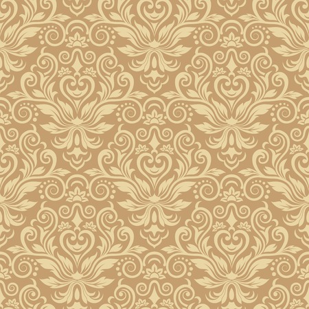 Damask seamless pattern for design. Vector Illustration Фото со стока - 87862702