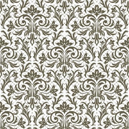 Un estampado de flores sin fisuras para la ilustración de vector de diseño.