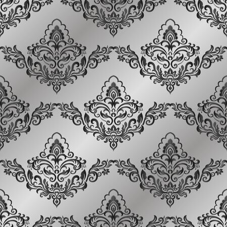 Seamless vintage wallpaper or background for design. 일러스트