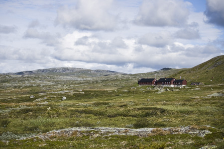 plato: Plato hardangervidda. norway Stock Photo