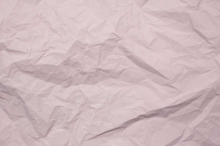 Trendy paper texture. Crumpled paper in light gray color