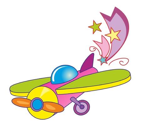 ベクトル イラスト - グッズ airplan