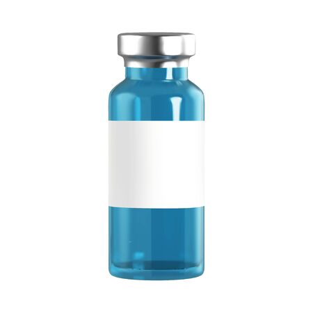Realistic 3d glass ampoules with medicine. Vaccine injection. corona virus infection, novel coronavirus disease 2019, COVID-19,nCoV 2019. Vector illustration.