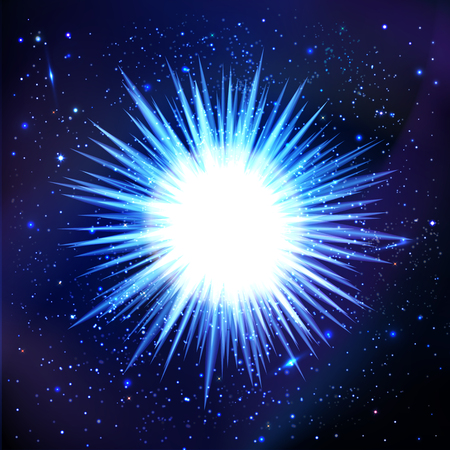 meteorites: abstract background cosmos. the explosion of a star in space to the galaxy. Stars, meteorites, nebula.