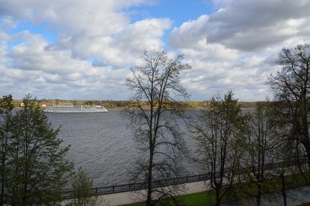 volga: Volga The Volga river is in autumn.