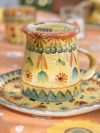 Rustic tea cup