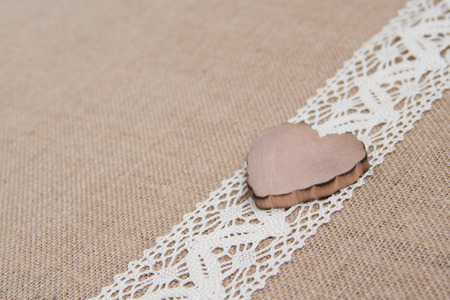 amore: Shabby rustic with wooden heart