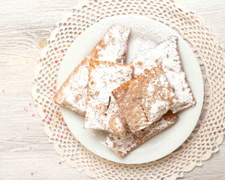 chiacchiere: Chiacchiere - Traditional Italian carnival sweets