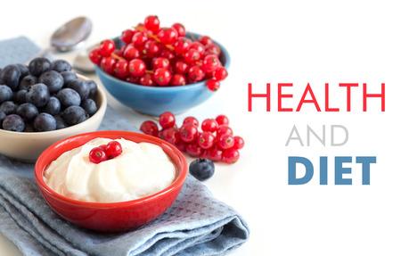 breackfast: Healthy breackfast  - Fresh berries and naturall yogurt or sour cream