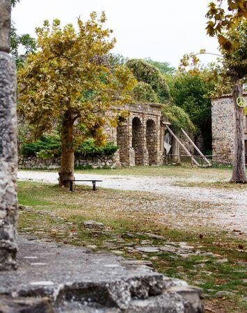 Roscigno Vecchio - old abandoned village in Cilento, Campania, italy