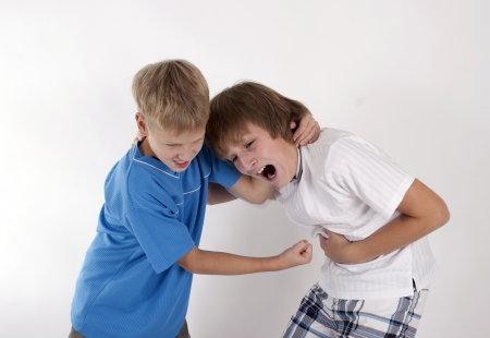 sibling rivalry: Quarrel of brothers