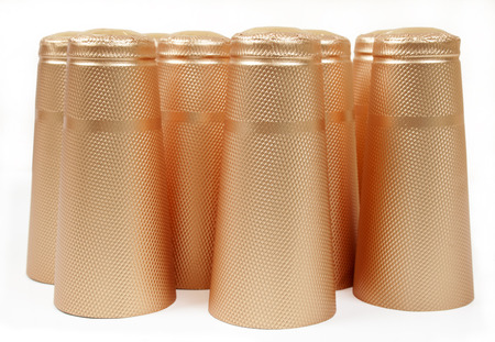 Capsules for a champagne
