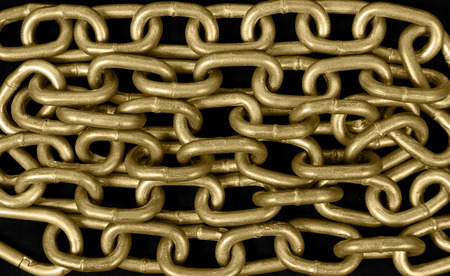 Background from a gold chain photo