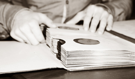 Discs retro collection photo