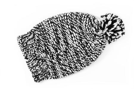 pompon: winter cap Stock Photo