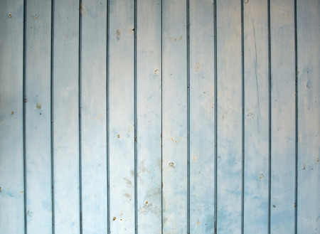 knotted: Vertical blue old wood texture with knots for background. Stock Photo