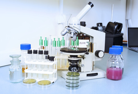 Laboratory equipment. Laboratory concept. Standard-Bild