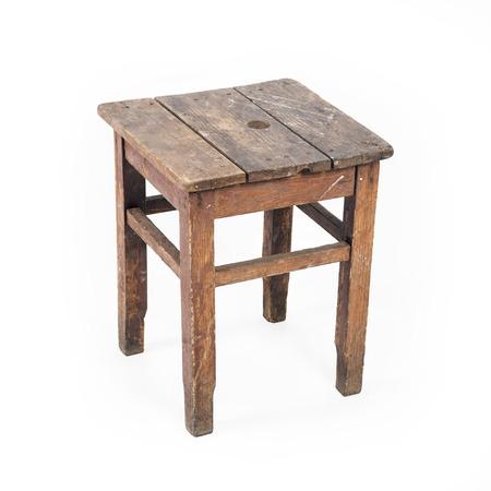 stool: Old stool